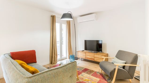Living area at Calle Gravina Apartment, Centre, Madrid