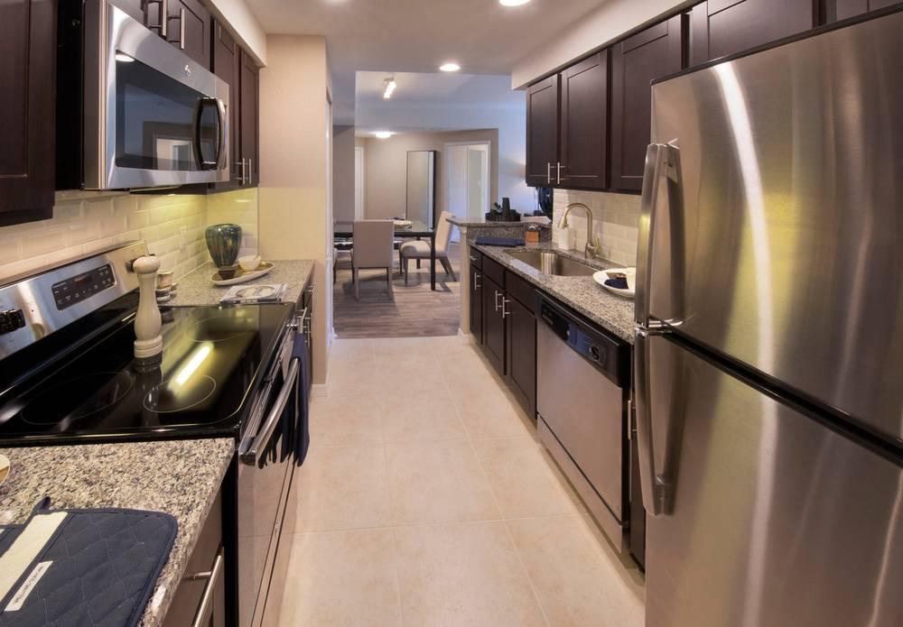 Kitchen at Gables Montecito, Gables Montecito, Palm Beach Gardens