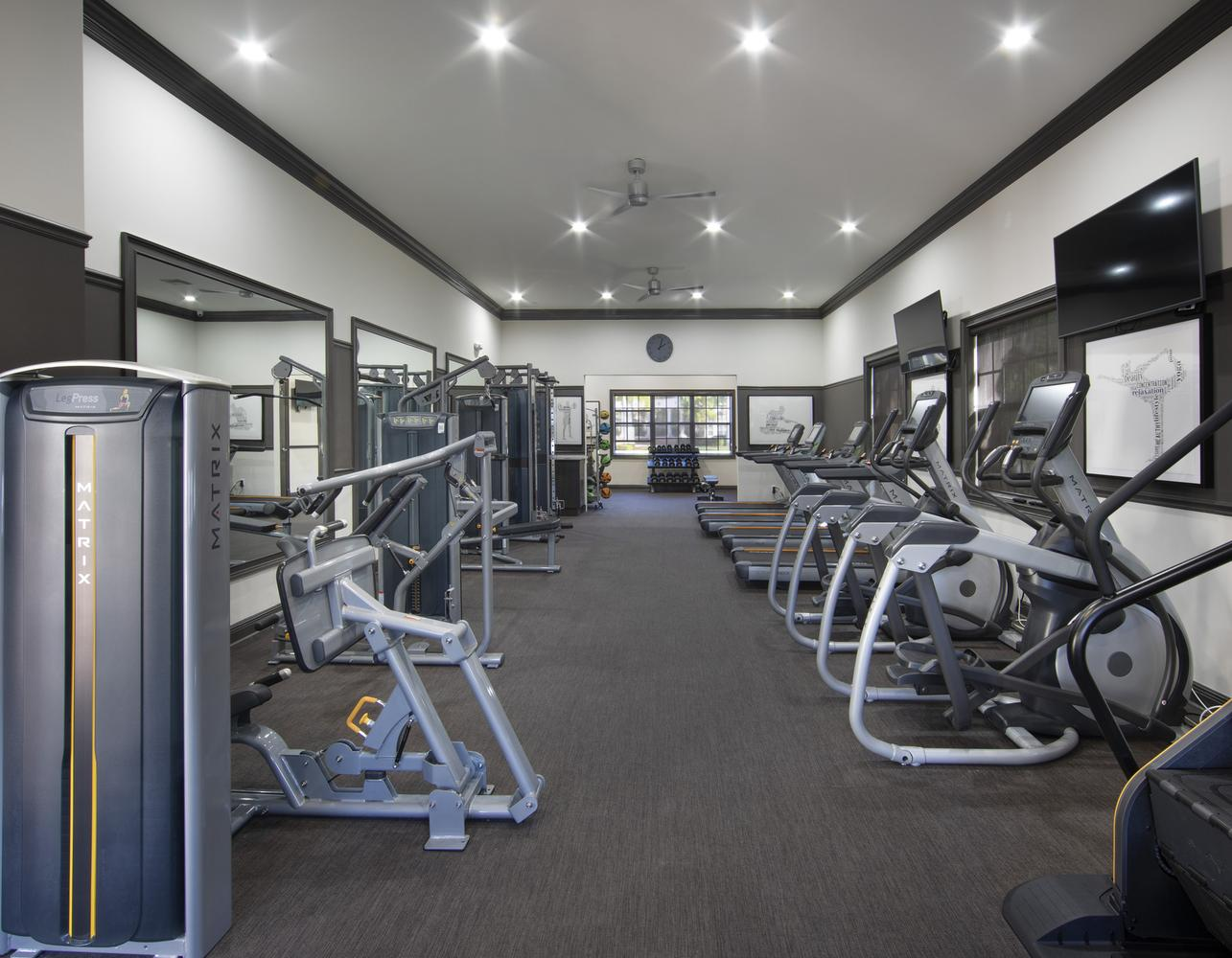 Gym at Gables Montecito, Gables Montecito, Palm Beach Gardens
