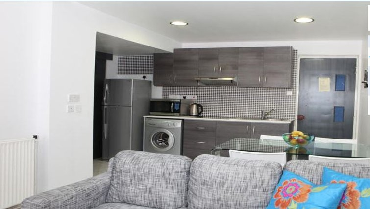 Modern kitchen in The Palms Apartments