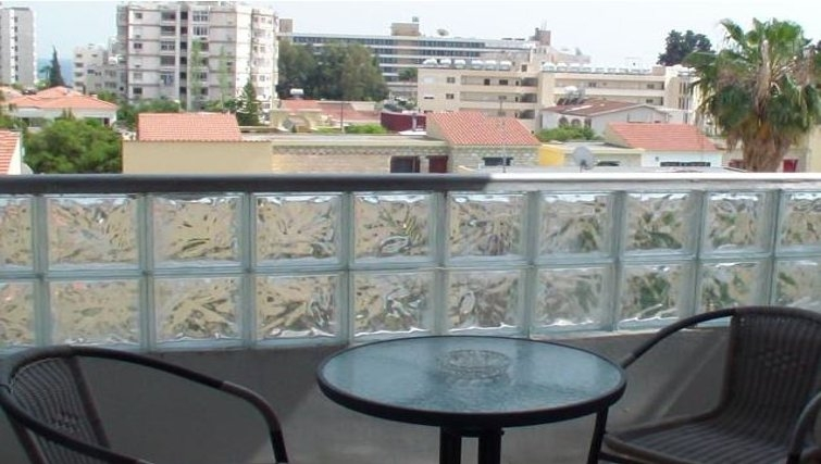 Balcony in The Palms Apartments