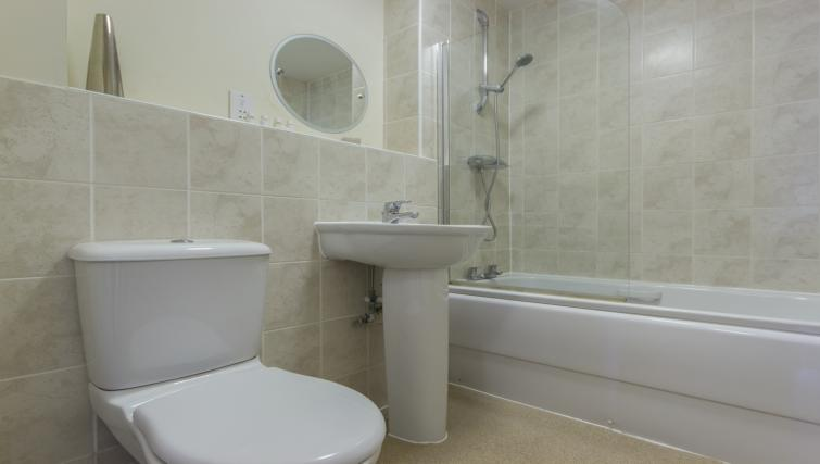 Attractive bathroom in Dove House Apartments