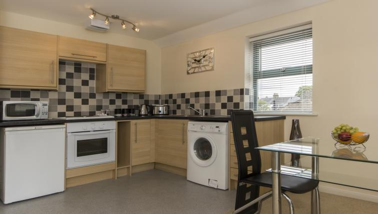 Lovely kitchen in Dove House Apartments