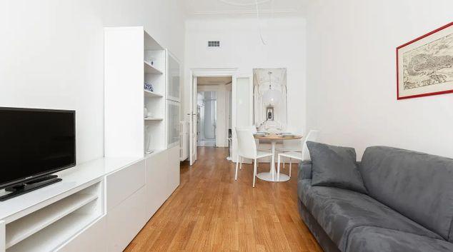 Living area at Piceno Apartment, Acquabella, Milan
