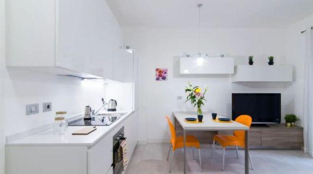 Dining area at Severino Apartment, City Life, Milan