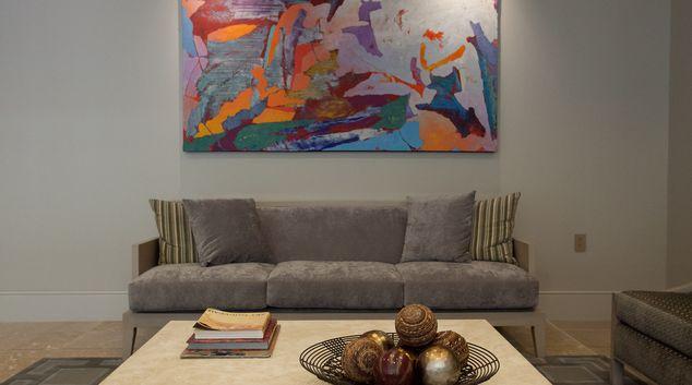 Living area at The Lansburgh Apartments, Centre, Washington DC