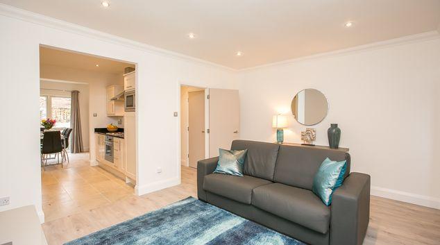 Living area at Cranmer Place Apartment, Stella Gardens, Dublin