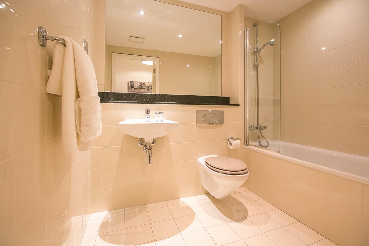 Bathroom at Hanover Waterfront Apartment, Stella Gardens, Dublin