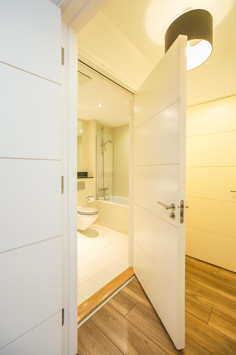 Toilet at Hanover Waterfront Apartment, Stella Gardens, Dublin