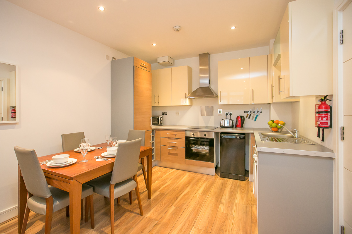 Dining area at Hanover Waterfront Apartment, Stella Gardens, Dublin