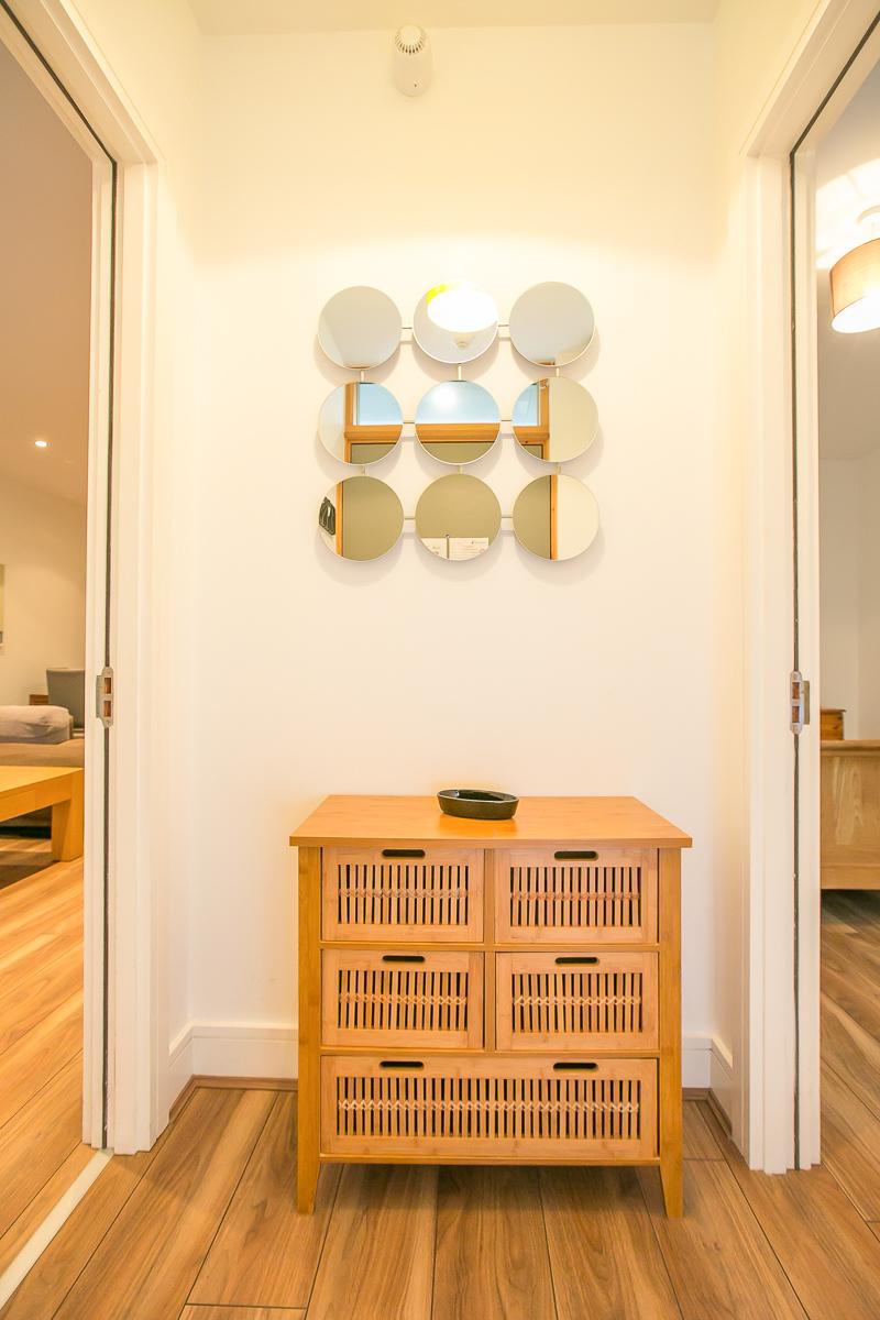 Hallway at Hanover Waterfront Apartment, Stella Gardens, Dublin