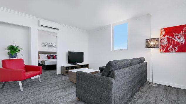 Lounge at Quest South Brisbane Apartments, Centre, Brisbane
