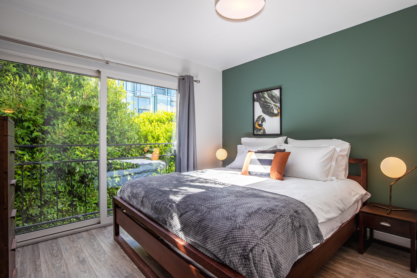 Bedroom at Octavia Street