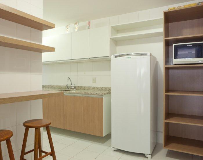 Kitchen at Paraiso Barra Apartment, Joa, Rio de Janeiro