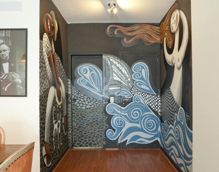 Hallway at Paraiso Barra Apartment, Joa, Rio de Janeiro