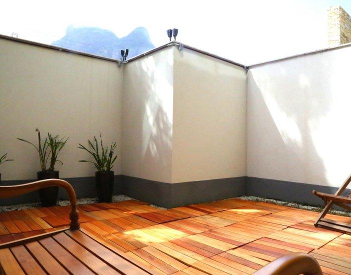 Outside space at Paraiso Barra Apartment, Joa, Rio de Janeiro