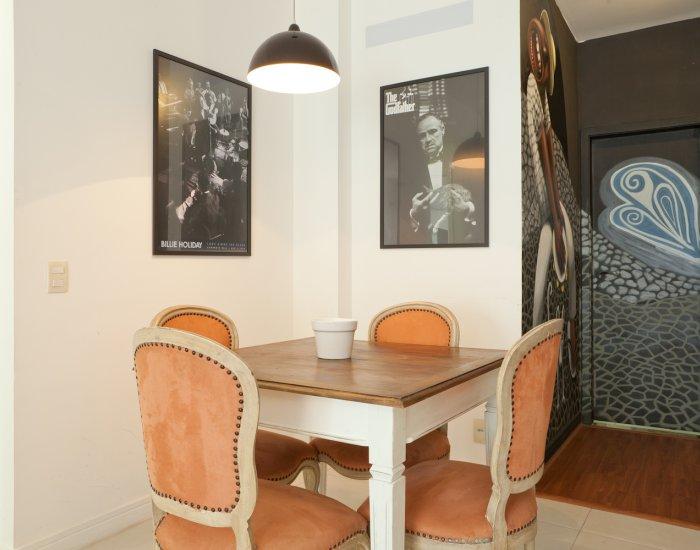 Table at Paraiso Barra Apartment, Joa, Rio de Janeiro