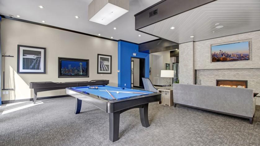 Game Room at The Artessa