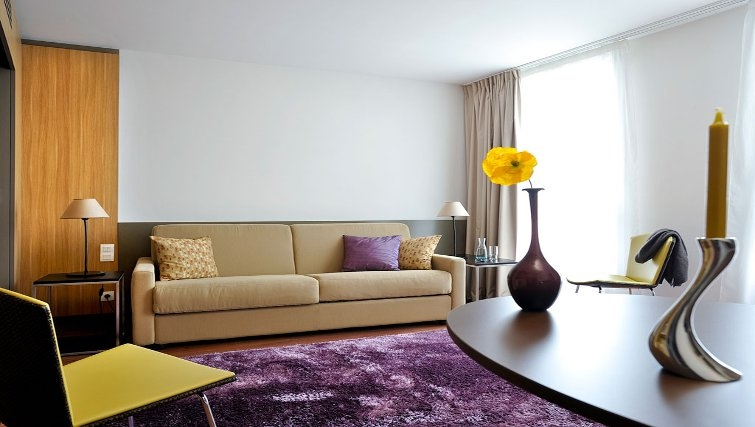 Modern living room in Adagio Nantes Centre