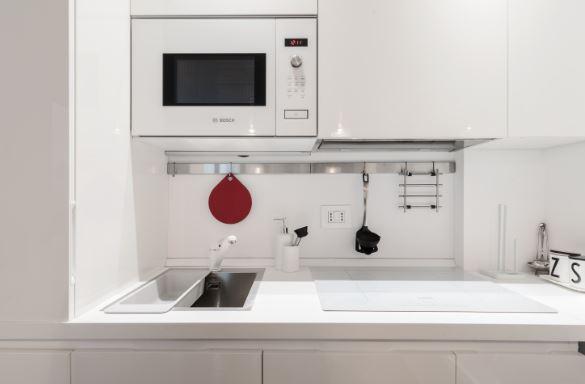 Kitchen at Blooming Rose Apartment, Ticinese, Milan