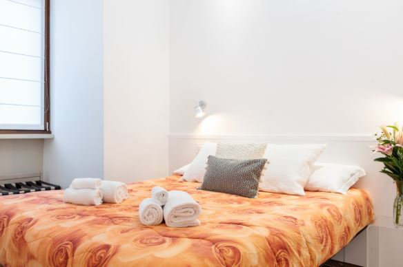 Bedroom at Blooming Rose Apartment, Ticinese, Milan