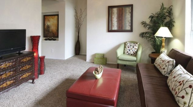 Living Room at Northend Apartments