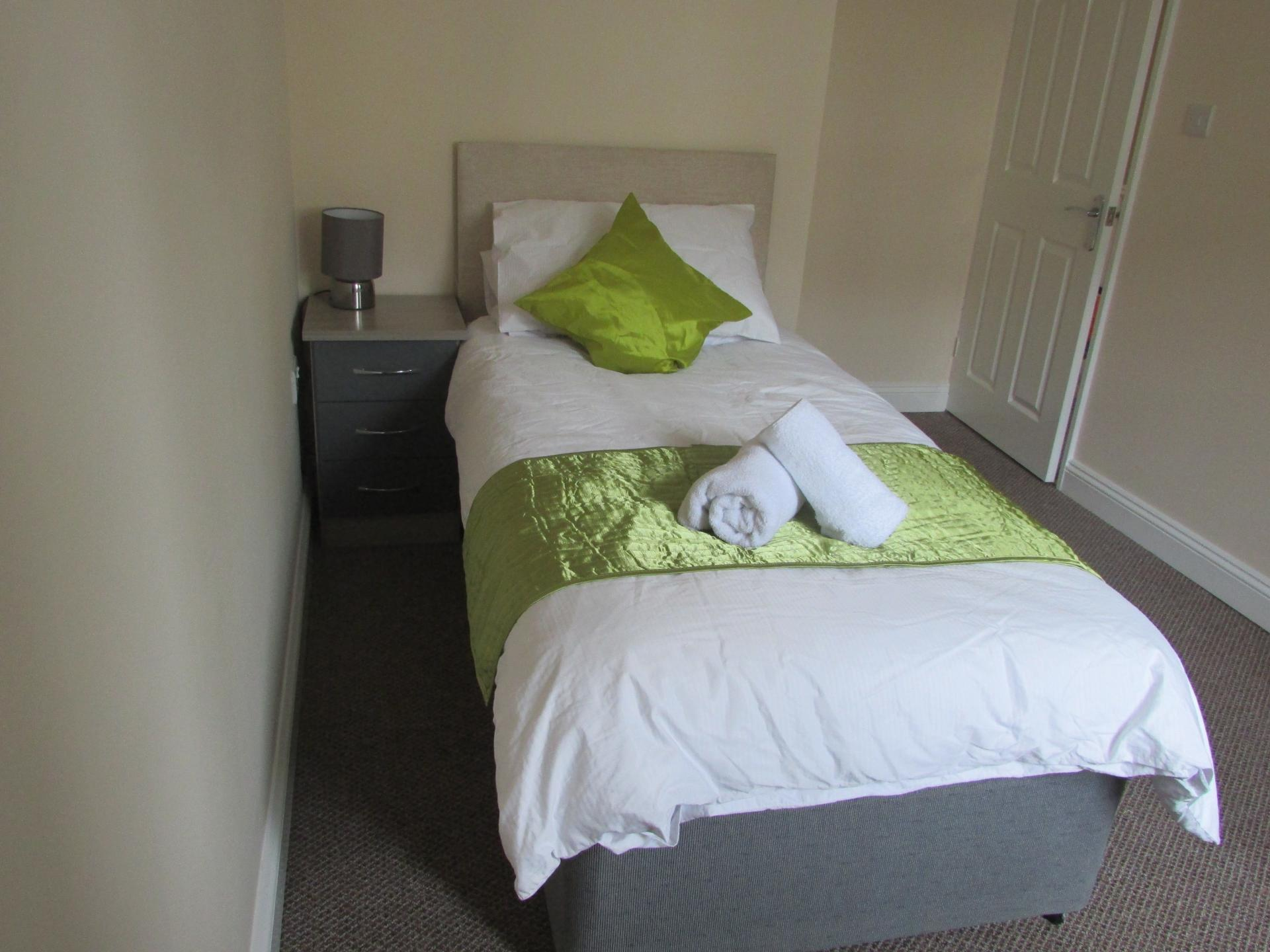 Bedroom at Paul's Place, Stonehouse, Plymouth