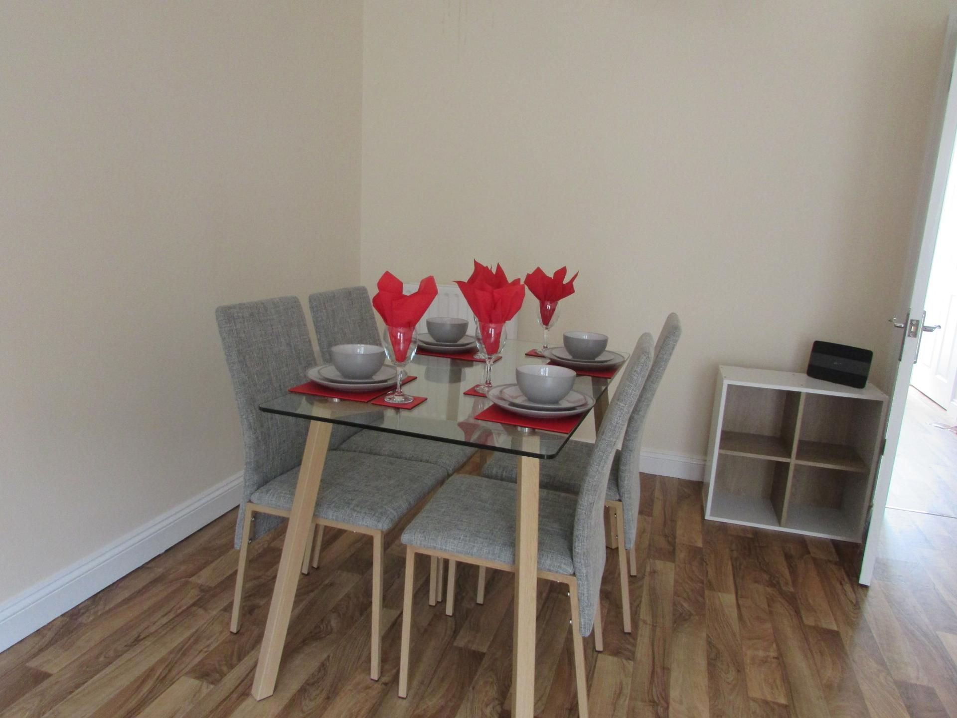 Dining area at Paul's Place, Stonehouse, Plymouth