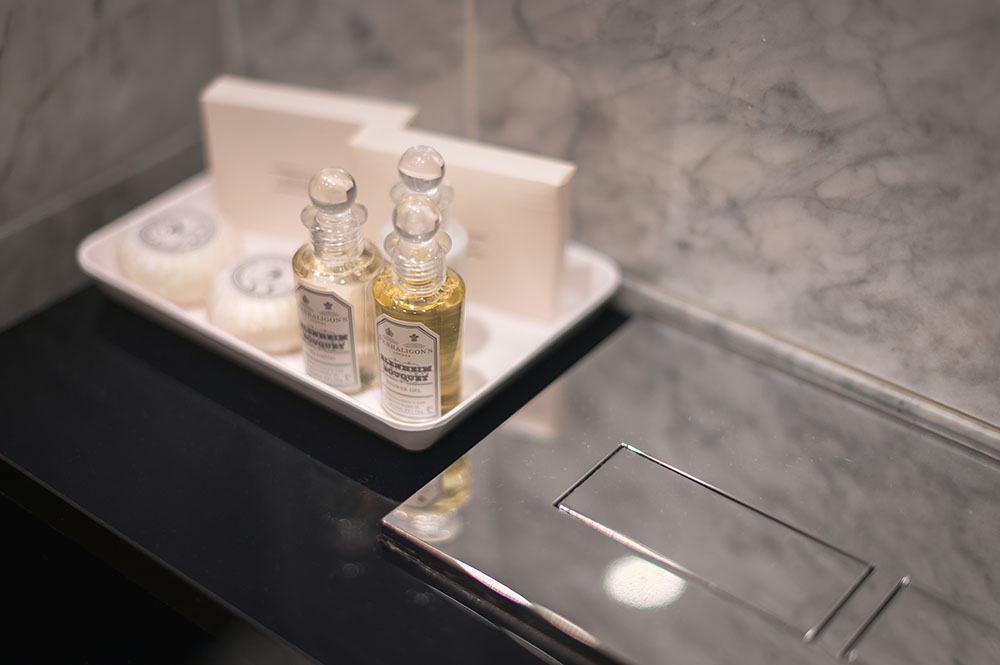 Toiletries at 10 Curzon Street Apartments, Mayfair, London