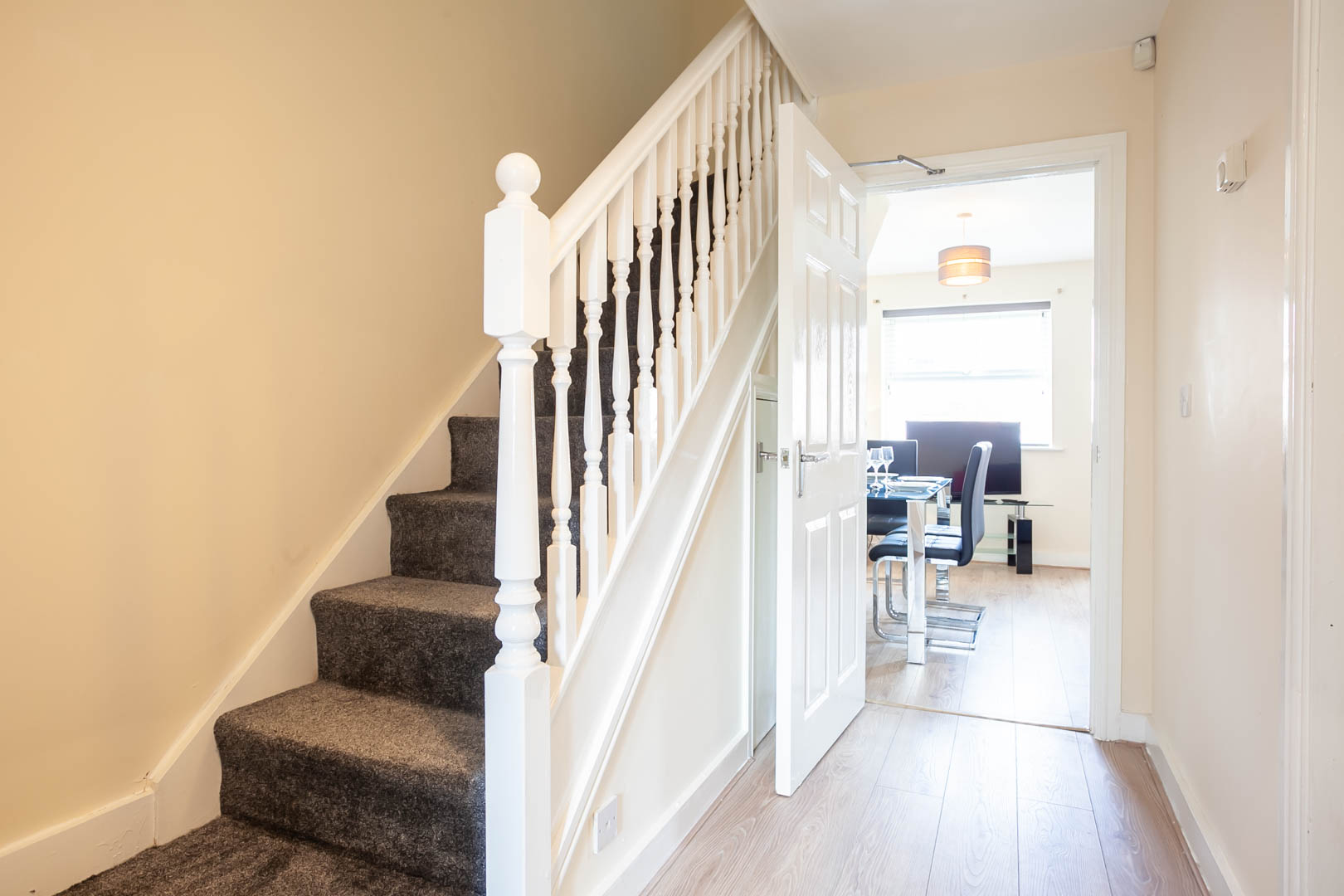 Hallway at St Marys House, Latchford, Warrington
