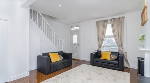 Living area at The Alabama, Plumstead, London