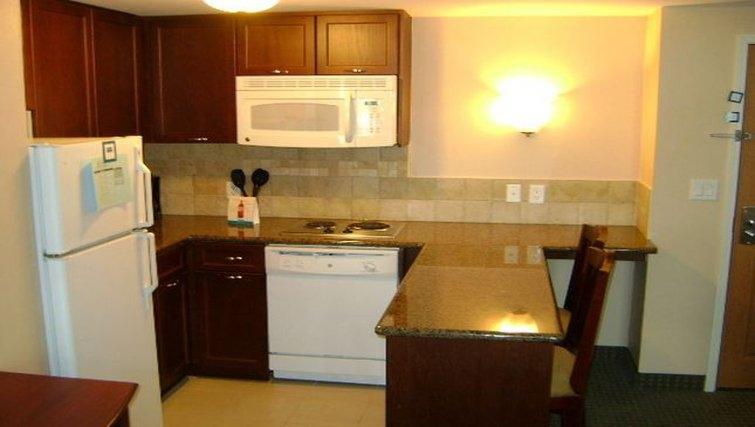 Bright kitchen in Staybridge Suites-Guelph