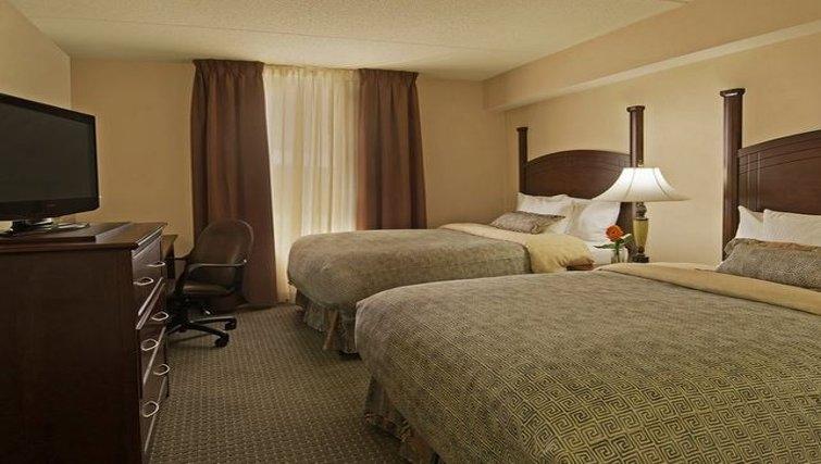 Comfortable bedroom in Staybridge Suites-Guelph