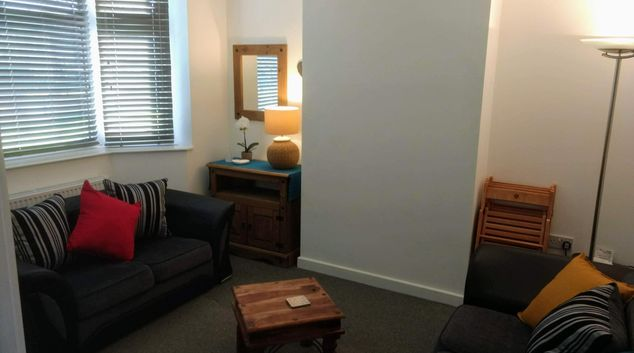 Living area at Ansty House, Wyken, Coventry