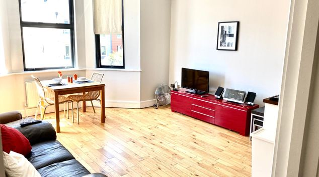 Lounge area at Westciti Croydon Serviced Apartments, Croydon, London