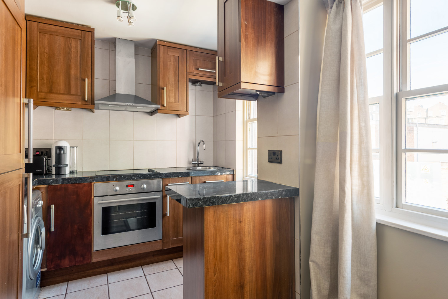 Worktop at Moscow Road Apartment, Bayswater, London