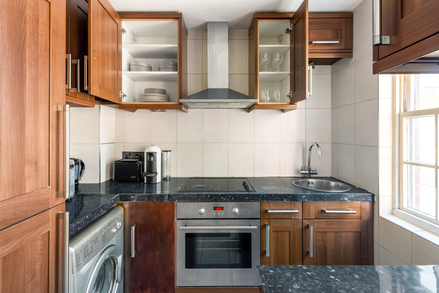 Kitchen at Moscow Road Apartment, Bayswater, London