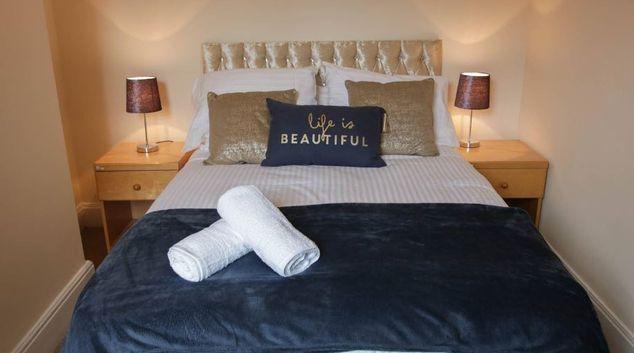 Bedroom at 11 Adelaide House, Kensington, Liverpool