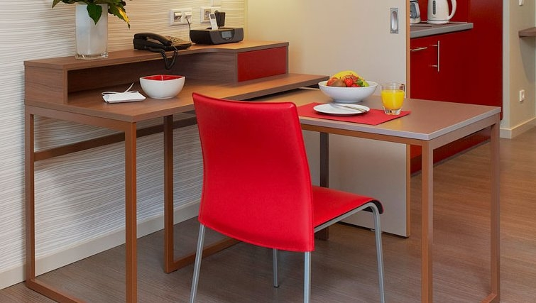 Practical dining area in Adagio Muenchen City