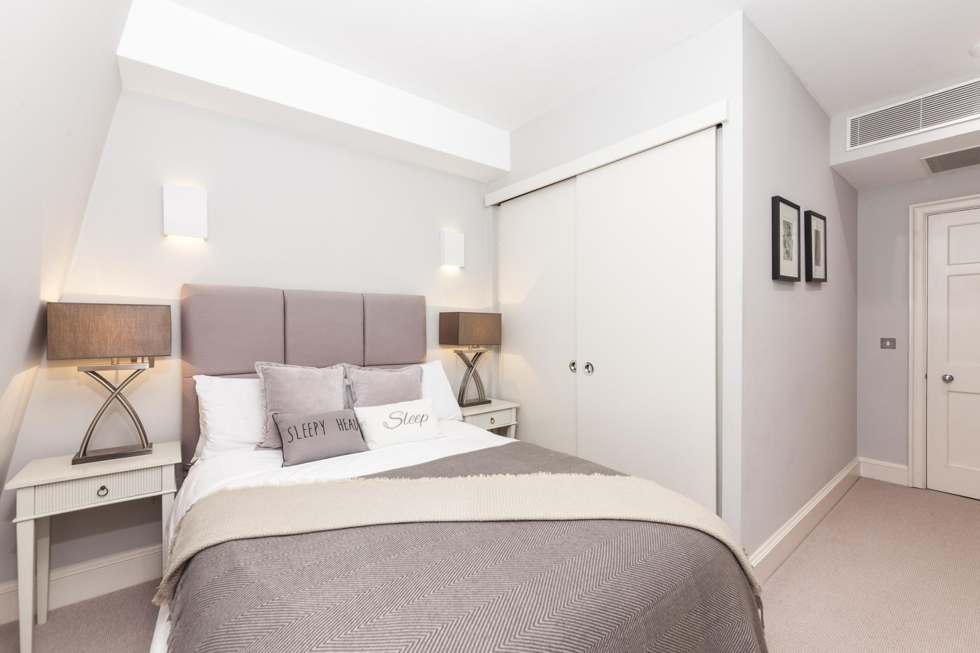 Bedroom at Mayfair Penthouse Apartment, Mayfair, London