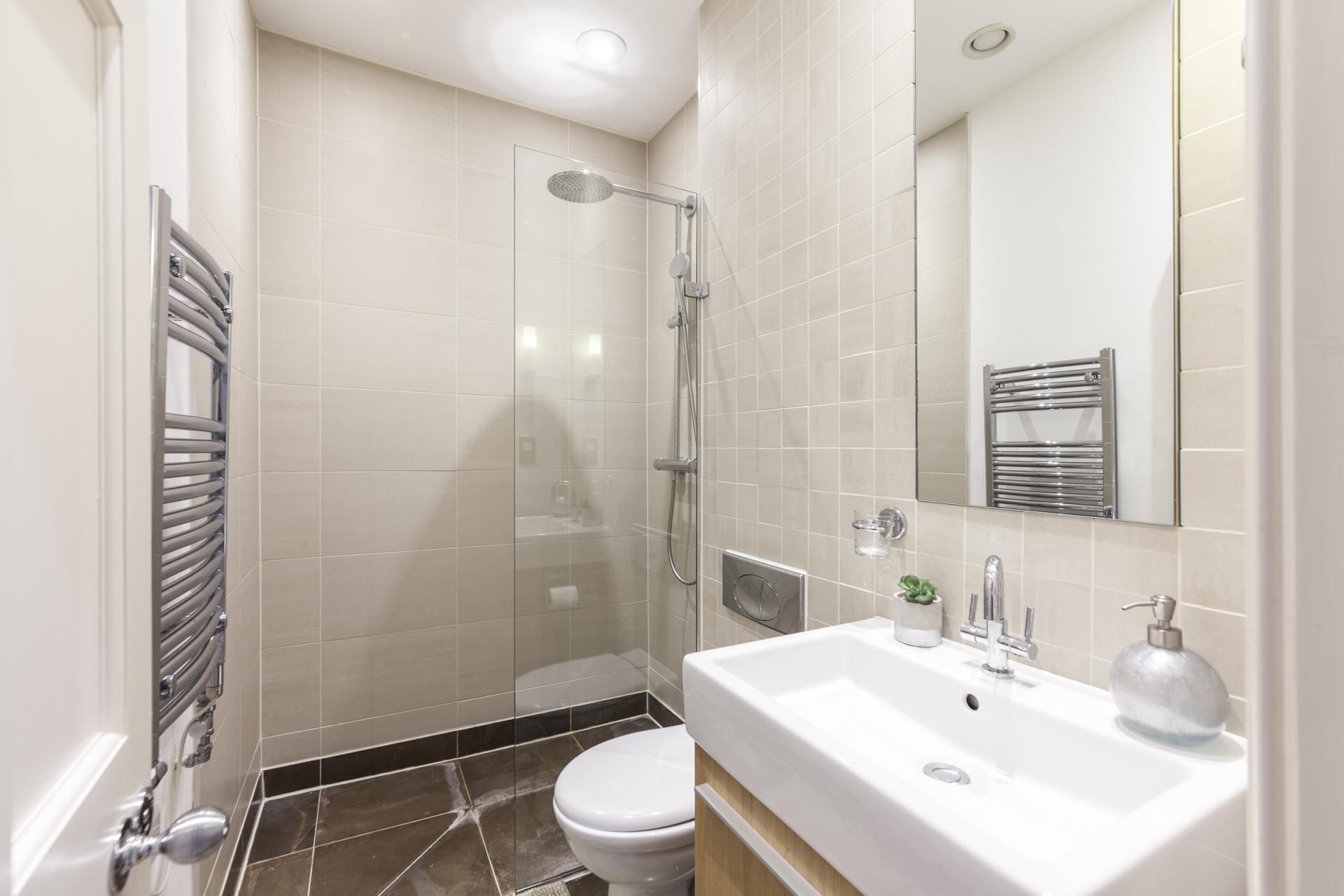 Bathroom at Mayfair Penthouse Apartment, Mayfair, London