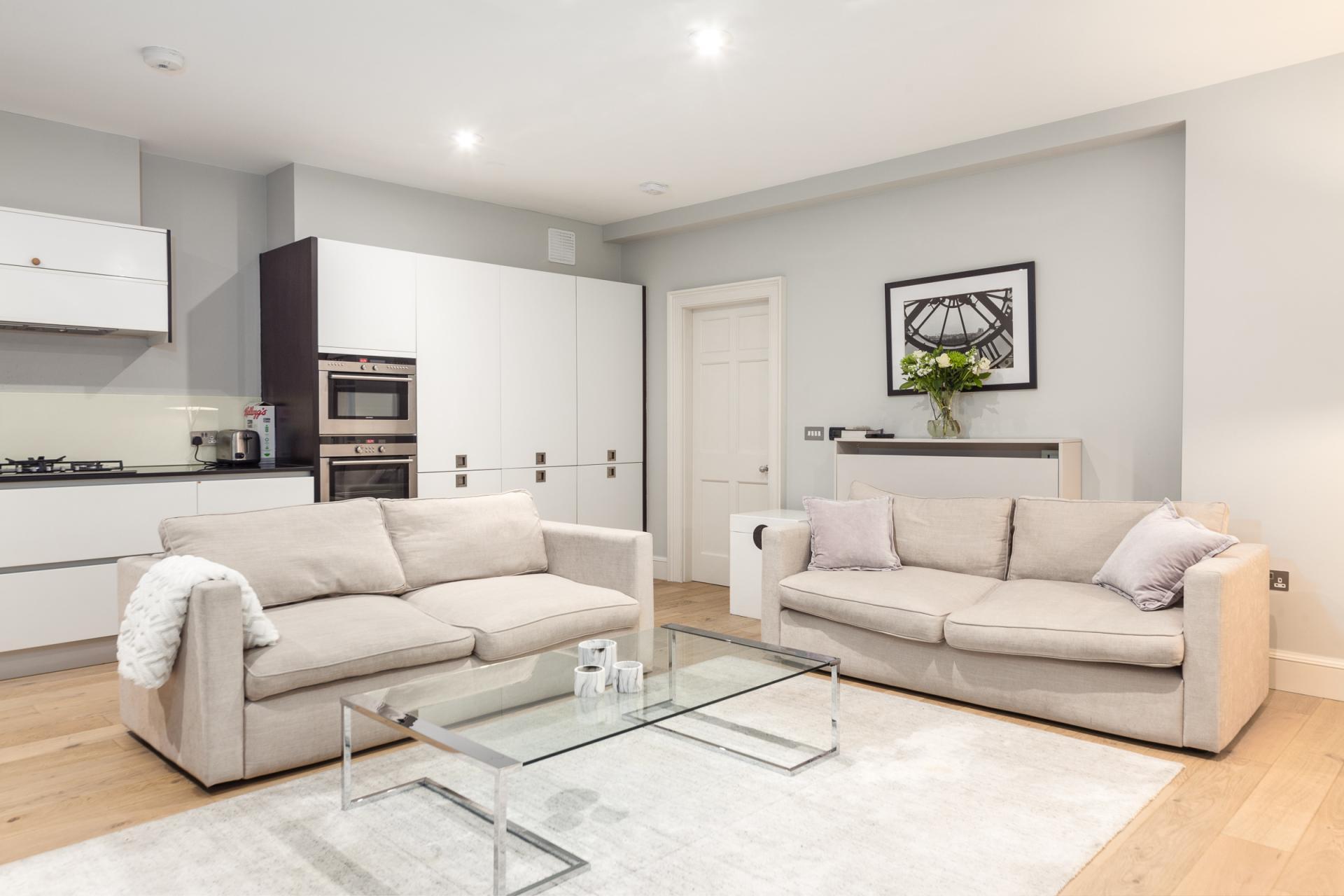 Sofa at Mayfair Penthouse Apartment, Mayfair, London