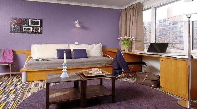Pleasant living area in Adagio Porte de Versailles