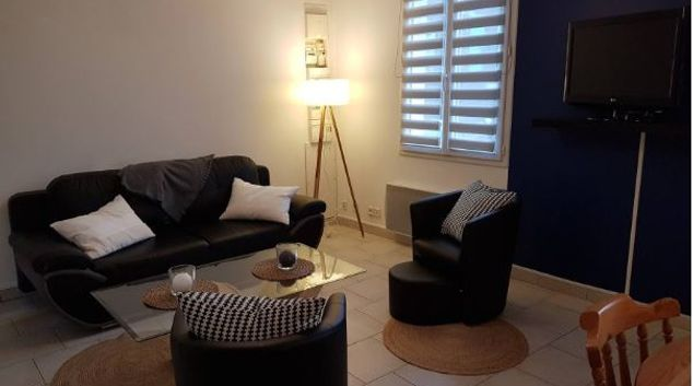 Living area at Rue des Blanches Apartment, Centre, Lisieux