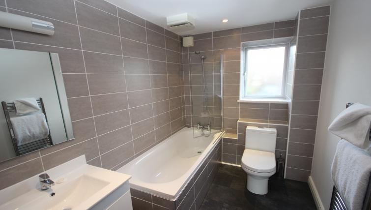 Bathroom in High Quays Apartments
