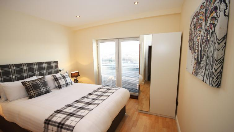 Bedroom at High Quays Apartments