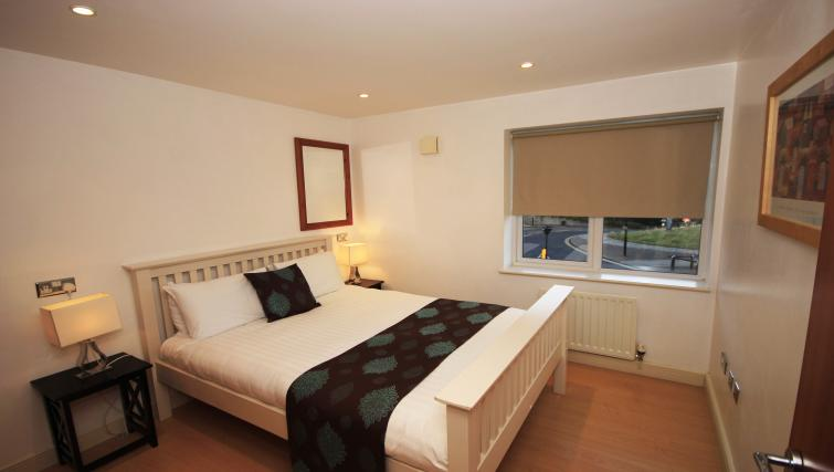 Bed at High Quays Apartments