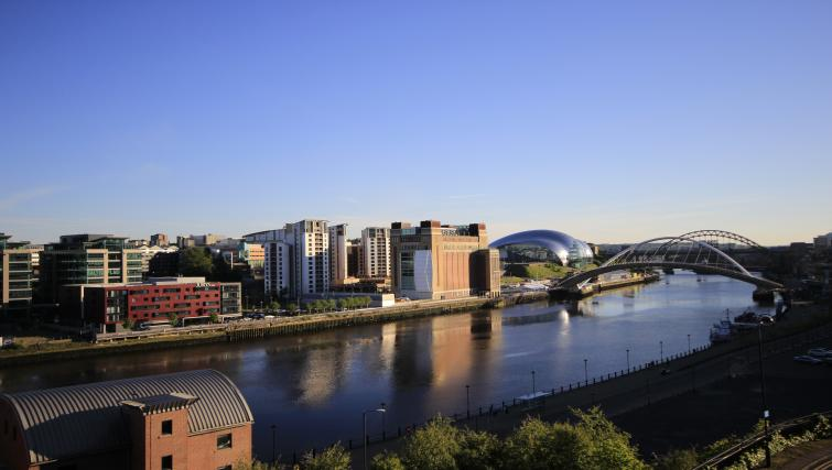 View from High Quays Apartments
