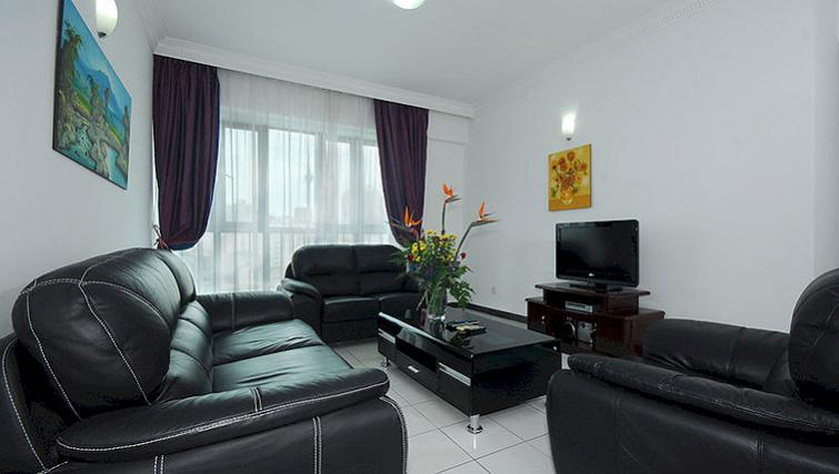 Comfortable living area in Kuala Lumpur Serviced Apartments