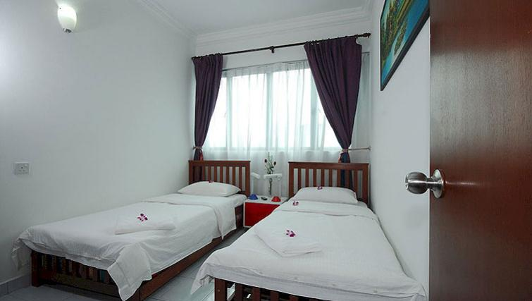 Lovely bedroom in Kuala Lumpur Serviced Apartments